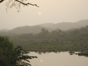 gambia-river-sunset